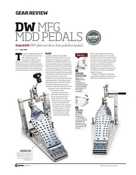 DW Direct Drive Pedals