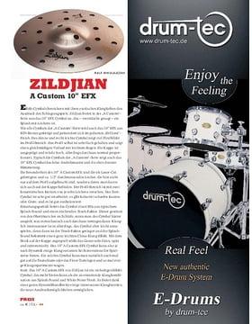 """Zildjian A Custom 10"""" EFX"""