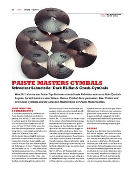 Paiste Masters Cymbals