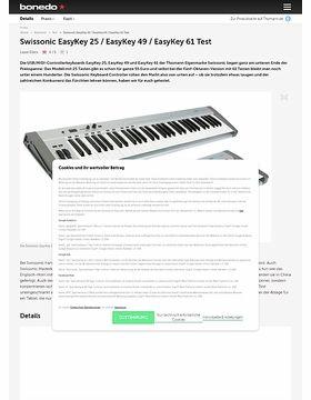 Swissonic EasyKey 25 / EasyKey 49 / EasyKey 61