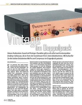 Fredenstein V.A.S. MicPre und V.A.S. Comp