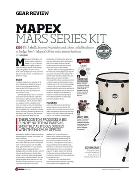Mapex Mars Series