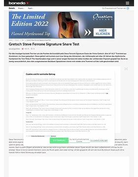 Gretsch Steve Ferrone Signature Snare