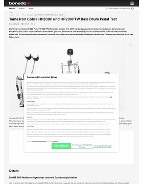Tama Iron Cobra HP200P und HP200PTW Bass Drum Pedal