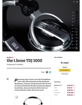 the t.bone TDJ 1000