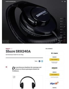 Shure SRH240