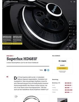 Superlux HD-681 F