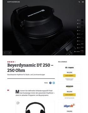 Beyerdynamic DT-250/250