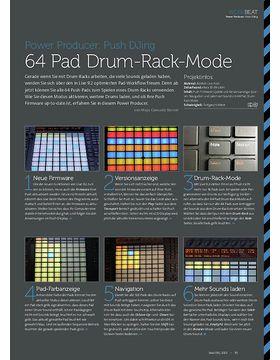Push DJing - 64 Pad Drum-Rack-Mode