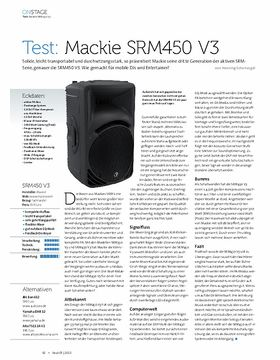 Mackie SRM 450 V3