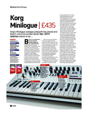 Korg Minilogue