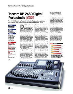 Tascam DP-24SD Digital Portastudio