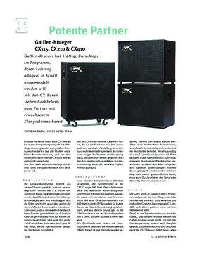Gallien-Krueger CX115, CX210 & CX410