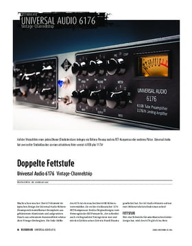 Universal Audio 6176 - Vintage-Channelstrip