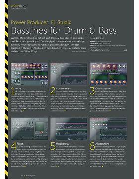 Power Producer: Basslines für Drum & Bass