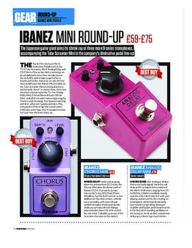 Ibanez Mini Round-Up