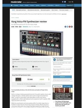 Korg Volca FM Synthesizer