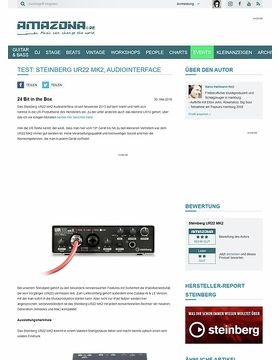 Test: Steinberg UR22 MK2, Audiointerface