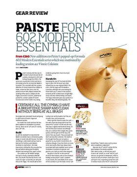 Paiste Formula 602 Modern Essentials