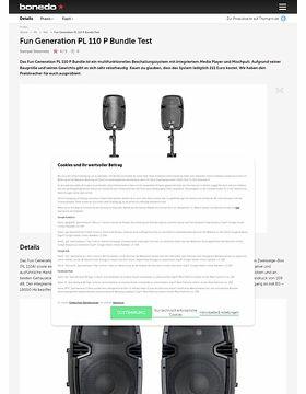 Fun Generation PL 110 P Bundle
