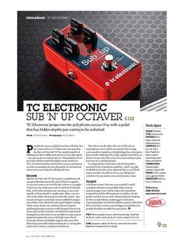 TC Electronic Sub 'n' Up Octaver