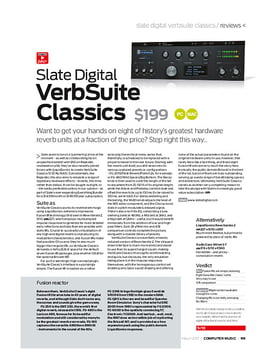 Slate Digital VerbSuite Classics