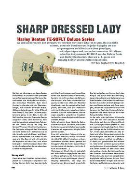Harley Benton TE-90FLT Deluxe Series, E-Gitarre