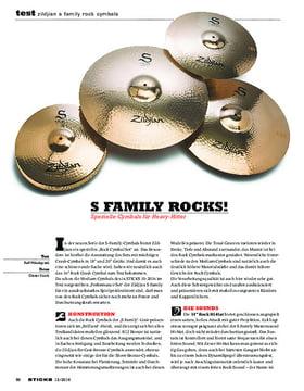 Zildjian S Family Rock Cymbals