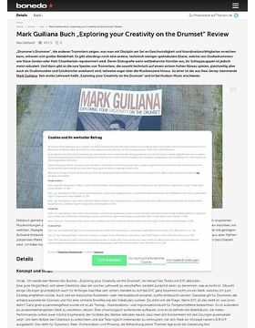 """Mark Guiliana Buch """"Exploring your Creativity on the Drumset"""""""
