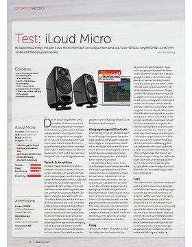 iLoud Micro Monitor + Audient iD4