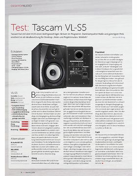 Tascam VL-S5, Steinberg UR12, Fostex T40RP MK3