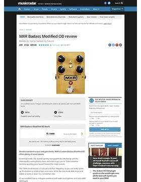 MXR Badass Modified OD