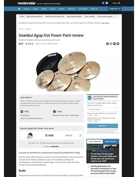 Istanbul Agop Xist Power Pack