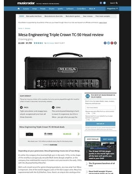 Mesa Engineering Triple Crown TC-50 Head