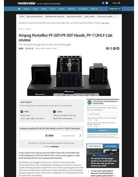 Ampeg Portaflex PF-20T/PF-50T Heads, PF-112HLF Cab