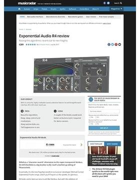 Exponential Audio R4