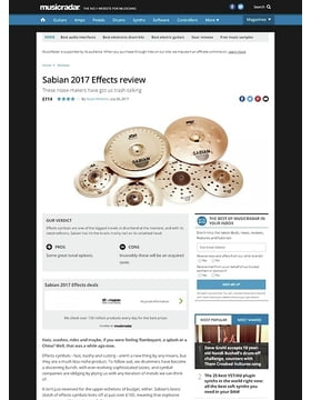 Sabian 2017 Effects