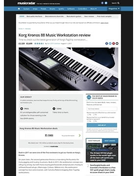 Korg Kronos 88 Music Workstation