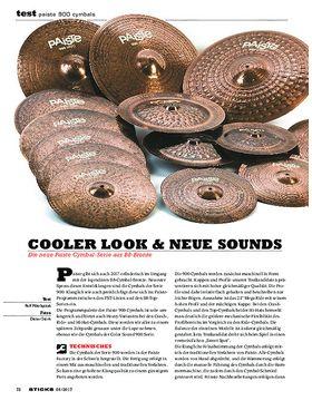 Paiste 900 Cymbals