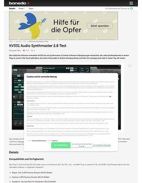 KV331 Audio Synthmaster 2.8