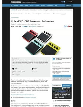 Roland SPD::ONE Percussion Pads