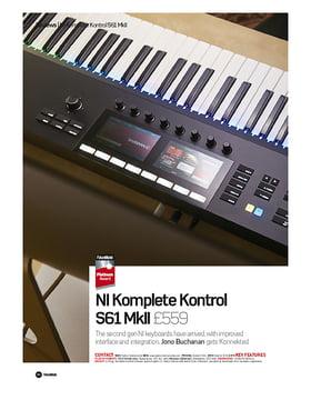 NI Komplete Kontrol S61 MkII