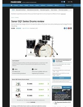 Sonor SQ1 Series Drums
