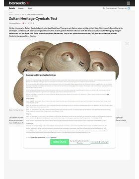 Zultan Heritage Cymbals