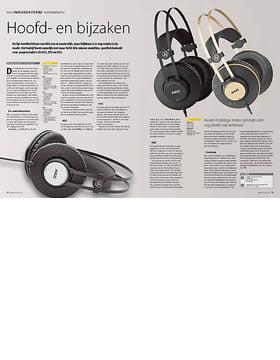 AKG K52 K72 K92 hoofdtelefoons