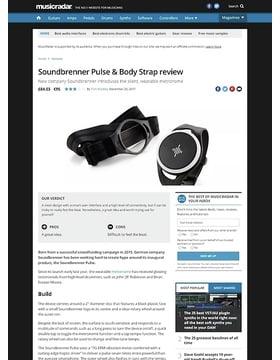 Soundbrenner Pulse & Body Strap