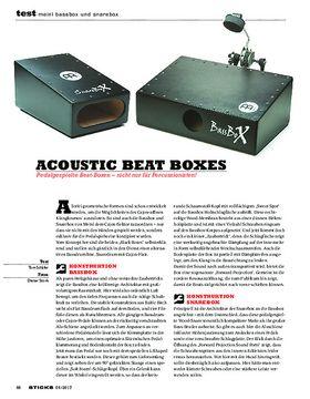 Meinl Bassbox und Snarebox
