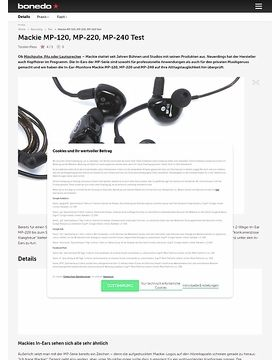 Mackie MP-120, MP-220, MP-240
