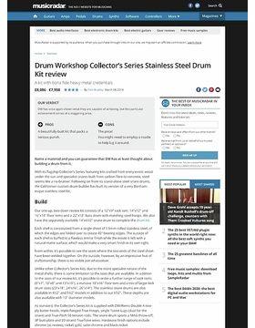 Drum Workshop Collector's Series Stainless Steel Drum Kit