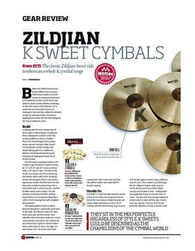 Zildjian K Sweet Cymbals